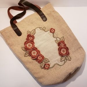 Artka Artisan Unique Boho Embroidery Tote Bag